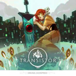 Обложка к диску с музыкой из игры «Transistor»