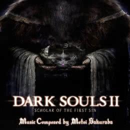 Обложка к диску с музыкой из игры «Dark Souls II»
