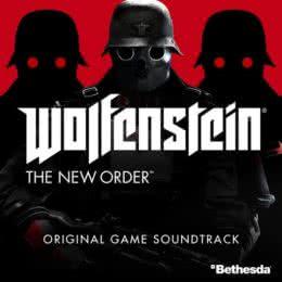 Обложка к диску с музыкой из игры «Wolfenstein: The New Order»
