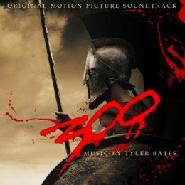 Обложка к диску с музыкой из фильма «300 спартанцев»