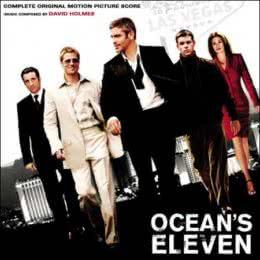 Обложка к диску с музыкой из фильма «Одиннадцать друзей Оушена»