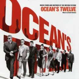 Обложка к диску с музыкой из фильма «Двенадцать друзей Оушена»