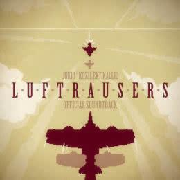 Обложка к диску с музыкой из игры «Luftrausers»