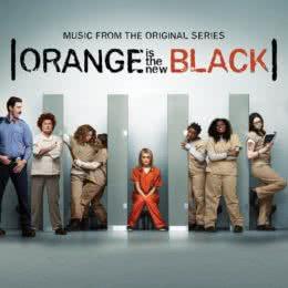 Обложка к диску с музыкой из сериала «Оранжевый — хит сезона»