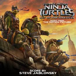 Обложка к диску с музыкой из фильма «Черепашки-ниндзя 2»