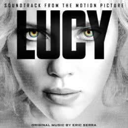 Обложка к диску с музыкой из фильма «Люси»