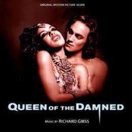Обложка к диску с музыкой из фильма «Королева проклятых»