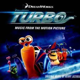 Обложка к диску с музыкой из мультфильма «Турбо»