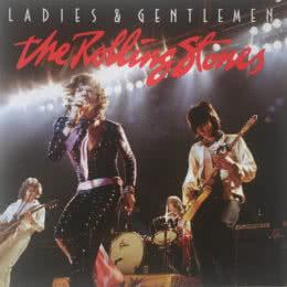Обложка к диску с музыкой из фильма «Дамы и господа... THE ROLLING STONES»