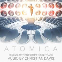 Обложка к диску с музыкой из фильма «Атомика»