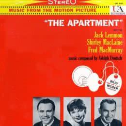 Обложка к диску с музыкой из фильма «Квартира»