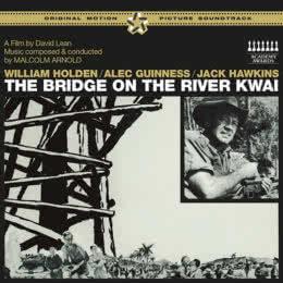 Обложка к диску с музыкой из фильма «Мост через реку Квай»