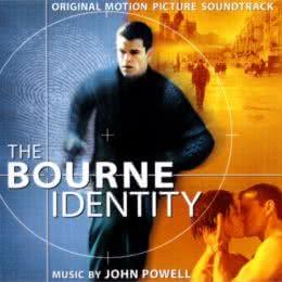 Обложка к диску с музыкой из фильма «Идентификация Борна»