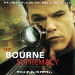 Обложка к диску с музыкой из фильма «Превосходство Борна»