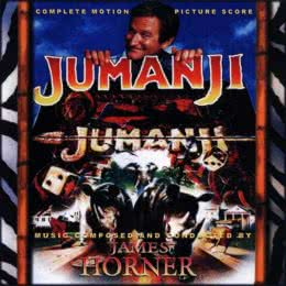 Обложка к диску с музыкой из фильма «Джуманджи»