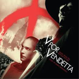 Обложка к диску с музыкой из фильма «V - значит вендетта»