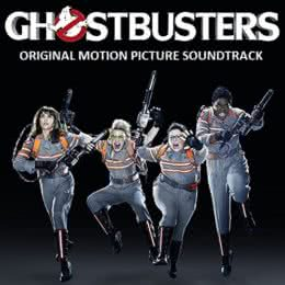 Обложка к диску с музыкой из фильма «Охотники за привидениями»