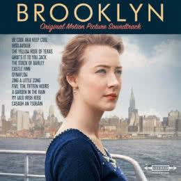 Обложка к диску с музыкой из фильма «Бруклин»