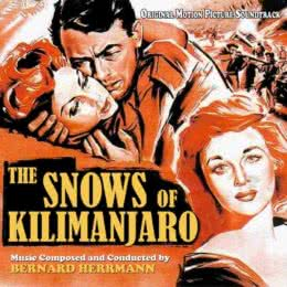 Обложка к диску с музыкой из фильма «Снега Килиманджаро»