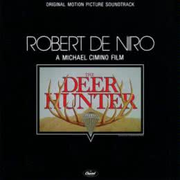 Обложка к диску с музыкой из фильма «Охотник на оленей»