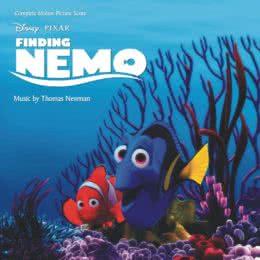 Обложка к диску с музыкой из мультфильма «В поисках Немо»