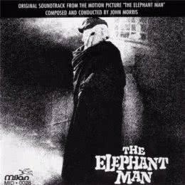 Обложка к диску с музыкой из фильма «Человек-слон»