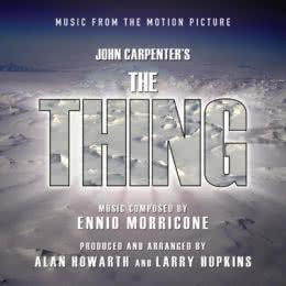 Обложка к диску с музыкой из фильма «Нечто»