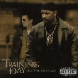 Обложка к диску с музыкой из фильма «Тренировочный день»