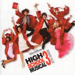 Обложка к диску с музыкой из фильма «Классный мюзикл: Выпускной»