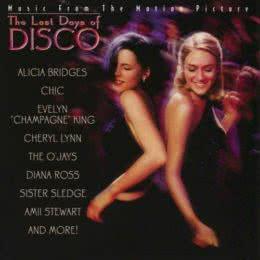 Обложка к диску с музыкой из фильма «Последние дни диско»