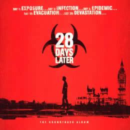 Обложка к диску с музыкой из фильма «28 дней спустя»