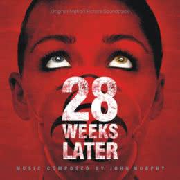 Обложка к диску с музыкой из фильма «28 недель спустя»