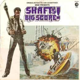 Обложка к диску с музыкой из фильма «Шафт в Африке»
