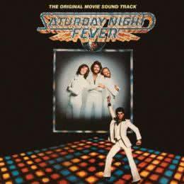 Обложка к диску с музыкой из фильма «Лихорадка субботнего вечера»