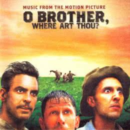 Обложка к диску с музыкой из фильма «О, где же ты, брат?»