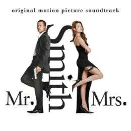 Обложка к диску с музыкой из фильма «Мистер и миссис Смит»
