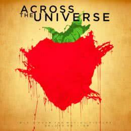 Обложка к диску с музыкой из фильма «Через Вселенную»