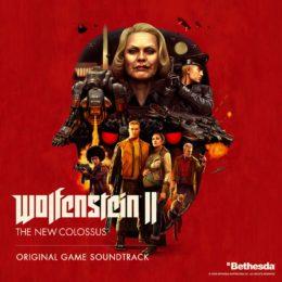 Обложка к диску с музыкой из игры «Wolfenstein II: The New Colossus »