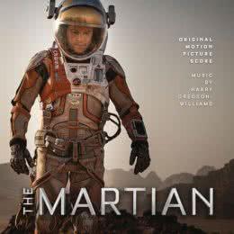 Обложка к диску с музыкой из фильма «Марсианин»
