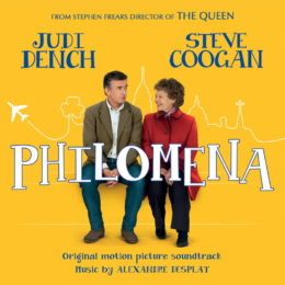 Обложка к диску с музыкой из фильма «Филомена»