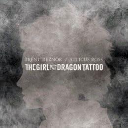 Обложка к диску с музыкой из фильма «Девушка с татуировкой дракона»