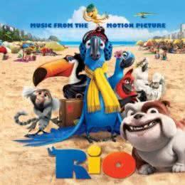 Обложка к диску с музыкой из мультфильма «Рио»