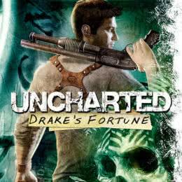 Обложка к диску с музыкой из игры «Uncharted: Drake's Fortune»