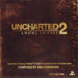 Обложка к диску с музыкой из игры «Uncharted 2: Among Thieves»