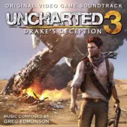 Обложка к диску с музыкой из игры «Uncharted 3: Drake's Deception»