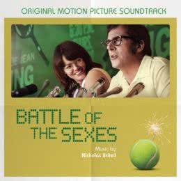 Обложка к диску с музыкой из фильма «Битва полов»