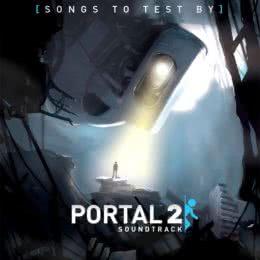 Обложка к диску с музыкой из игры «Portal 2»