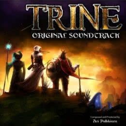 Обложка к диску с музыкой из игры «Trine»