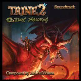 Обложка к диску с музыкой из игры «Trine 2: The Goblin Menace»