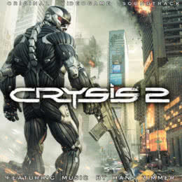 Обложка к диску с музыкой из игры «Crysis 2»